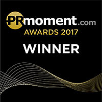PRmoment.com awards 2017 - Winner of Best Use of Research – In-house