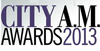 City AM awards 2013 logo