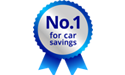 No.1 for car savings