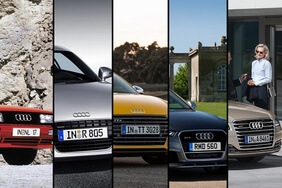 The five greatest Audis of all time