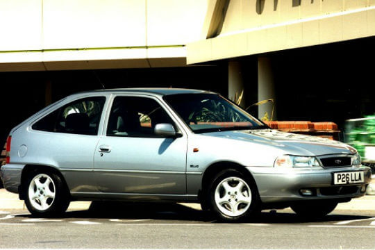 Worst Asian cars: Daewoo Nexia
