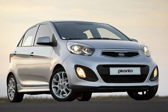 Best Asian cars: Kia Picanto
