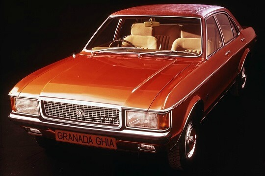 Ford Granada from the 70s