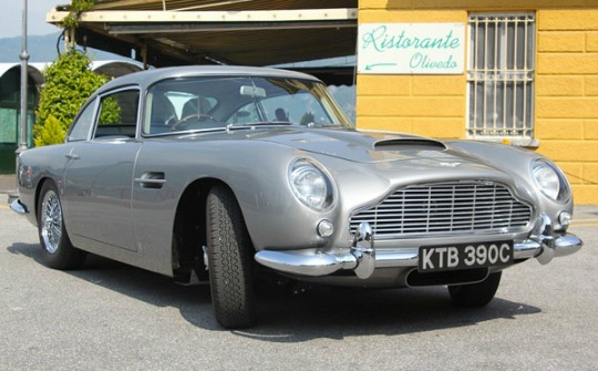 An Aston Martin DB-5