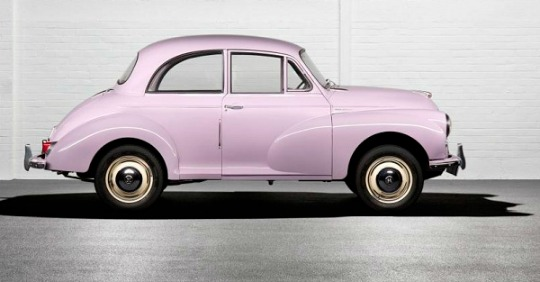 An old morris minor