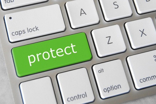 Keyboard with protect key
