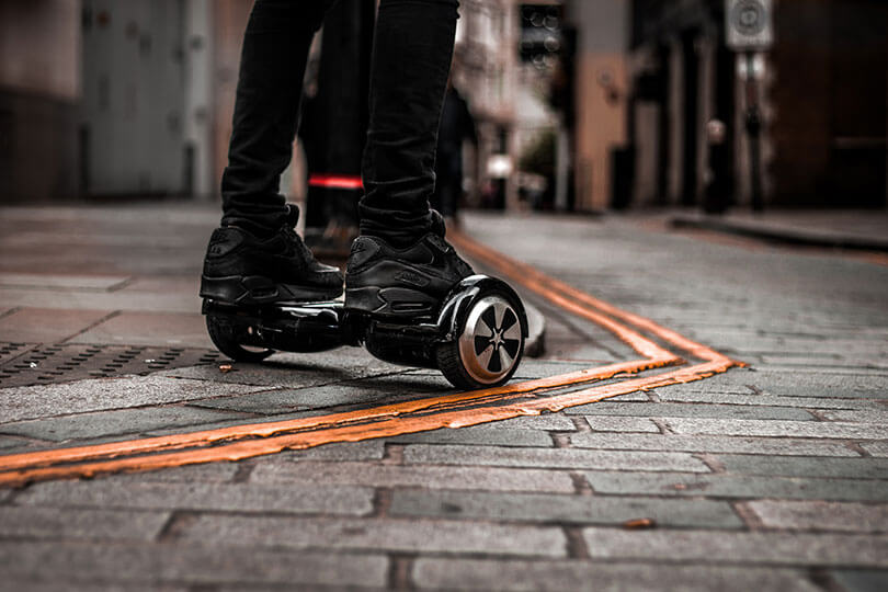Swegway - self-balancing scooter