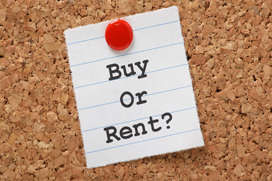 buying or renting