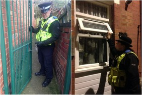 Coventry police finding insecure homes