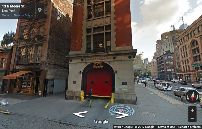 Ghostbusters firestation