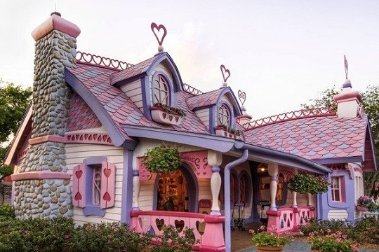 Fairytale self built house