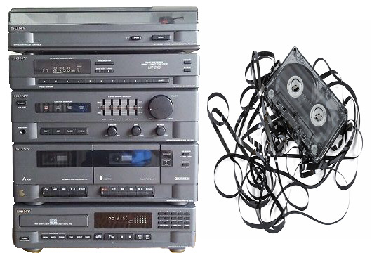 Sony hifi and cassette