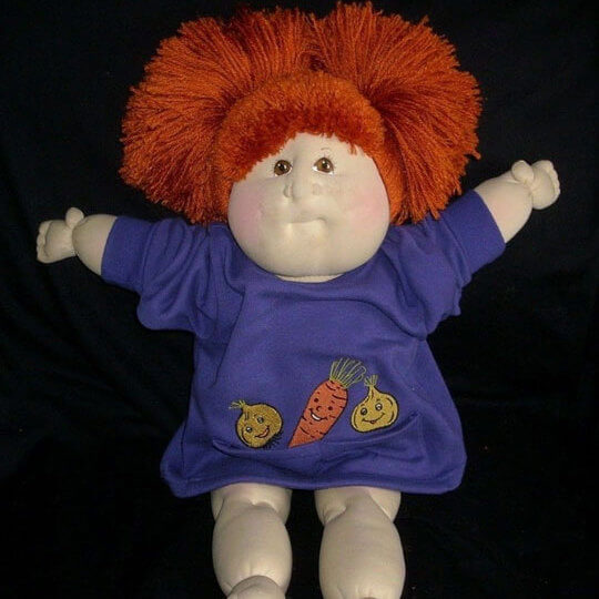 Cabbage patch toy doll