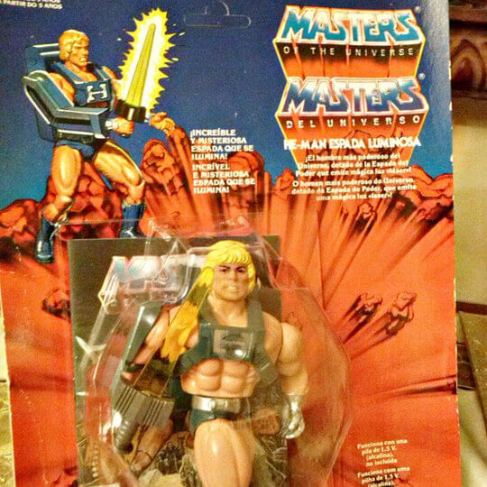 He man toy doll