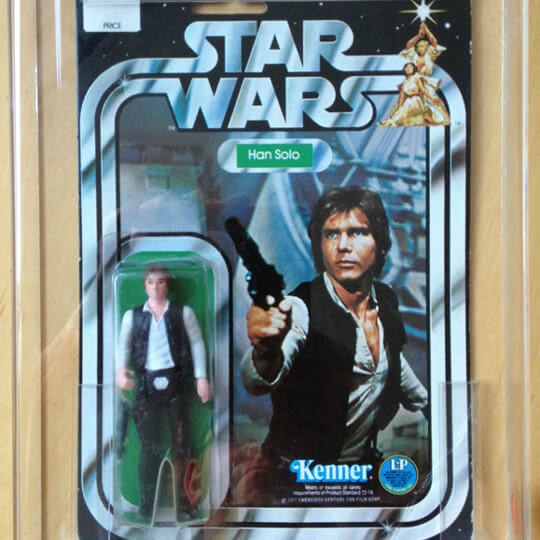 Star wars Han Solo toy doll