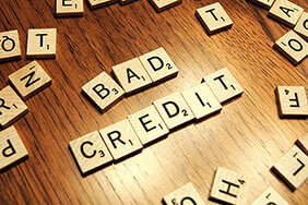 Bad credit scrabble tiles