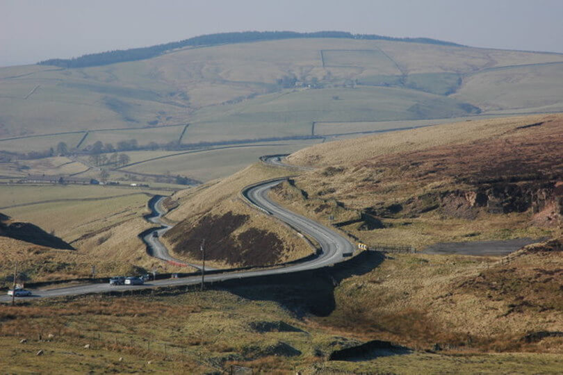 Cat & Fiddle climb