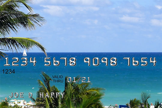 Credit card abroad