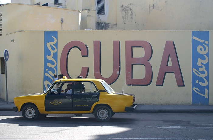 Old style car in Cuba