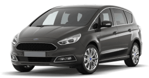 Ford SMax black car