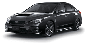 Subaru WRX STI car Black
